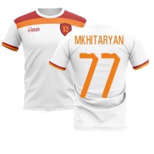 2020-2021 Roma Away Concept Football Shirt (Mkhitaryan 77)