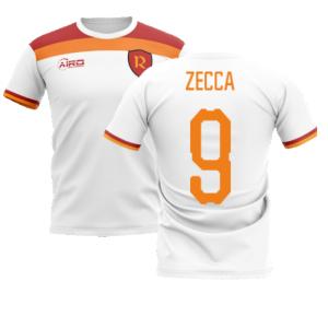 2020-2021 Roma Away Concept Football Shirt (Zecca 9)