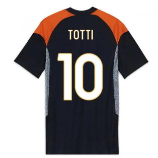 2020-2021 Roma Third Shirt (TOTTI 10)