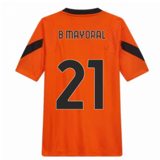2020-2021 Roma Training Shirt (Orange) (B MAYORAL 21)