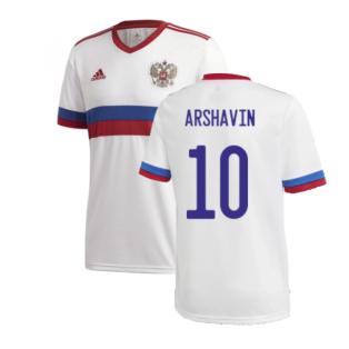 2020-2021 Russia Away Shirt (ARSHAVIN 10)