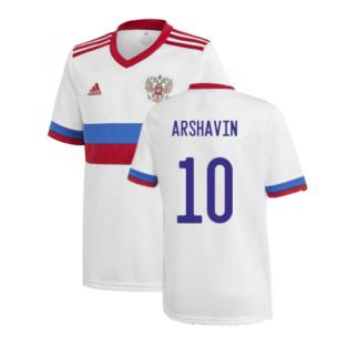 2020-2021 Russia Away Shirt (Kids) (ARSHAVIN 10)