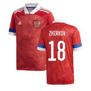2020-2021 Russia Home Adidas Football Shirt (Kids) (ZHIRKOV 18)