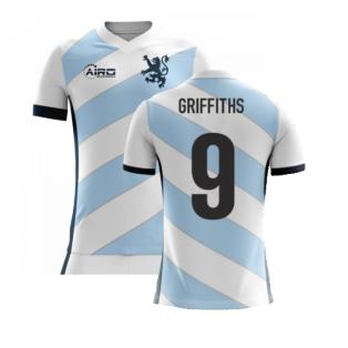 2020-2021 Scotland Airo Concept Away Shirt (Griffiths 9) - Kids