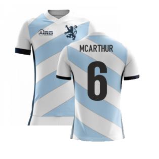 2020-2021 Scotland Airo Concept Away Shirt (McArthur 6) - Kids