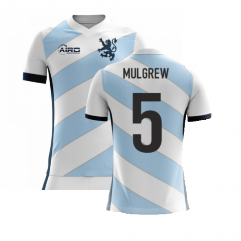 2020-2021 Scotland Airo Concept Away Shirt (Mulgrew 5) - Kids
