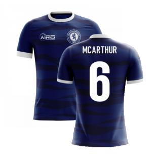 2020-2021 Scotland Airo Concept Home Shirt (McArthur 6)