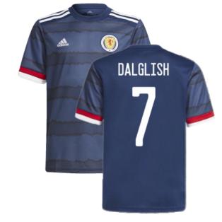 2020-2021 Scotland Home Adidas Football Shirt (DALGLISH 7)