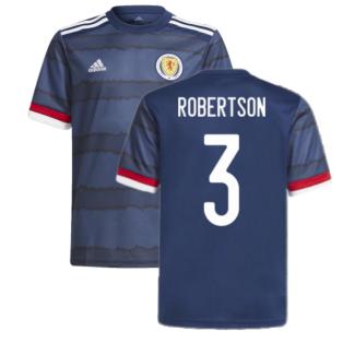 2020-2021 Scotland Home Adidas Football Shirt (Robertson 3)