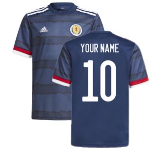 2020-2021 Scotland Home Adidas Football Shirt (Your Name)