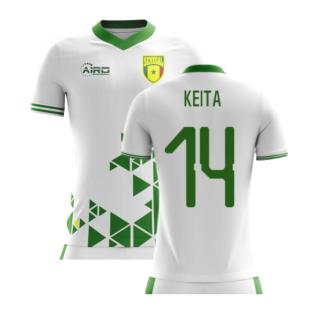 2020-2021 Senegal Home Concept Football Shirt (Keita 14) - Kids