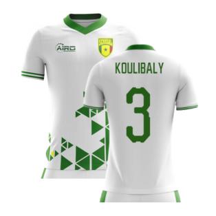 2020-2021 Senegal Home Concept Football Shirt (Koulibaly 3) - Kids
