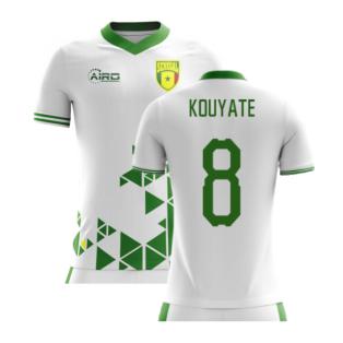 2020-2021 Senegal Home Concept Football Shirt (Kouyate 8) - Kids
