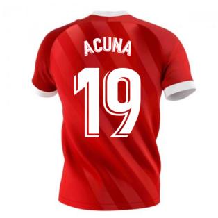 2020-2021 Seville Away Shirt (ACUNA 19)