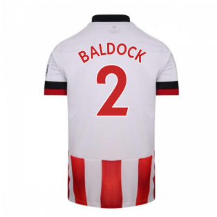 2020-2021 Sheffield United Adidas Home Football Shirt (BALDOCK 2)