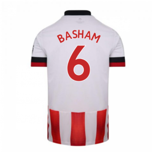 2020-2021 Sheffield United Adidas Home Football Shirt (BASHAM 6)
