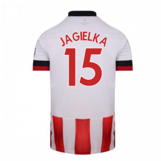 2020-2021 Sheffield United Adidas Home Football Shirt (JAGIELKA 15)