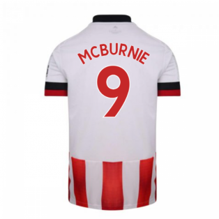 2020-2021 Sheffield United Adidas Home Football Shirt (McBURNIE 9)