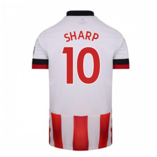 2020-2021 Sheffield United Adidas Home Football Shirt (SHARP 10)