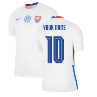 2020-2021 Slovakia Away Shirt (Your Name)