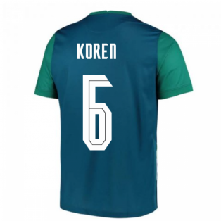 2020-2021 Slovenia Away Nike Football Shirt (KOREN 6)