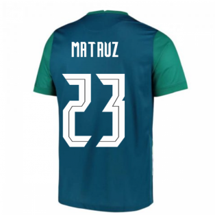 2020-2021 Slovenia Away Nike Football Shirt (MATAVZ 23)