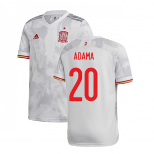 2020-2021 Spain Away Shirt (ADAMA 20)
