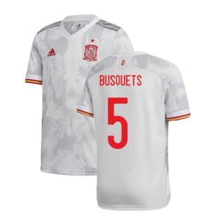 2020-2021 Spain Away Shirt (BUSQUETS 5)