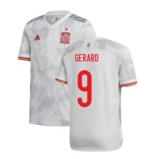 2020-2021 Spain Away Shirt (GERARD 9)