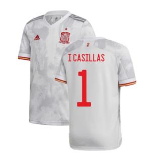 2020-2021 Spain Away Shirt (I CASILLAS 1)
