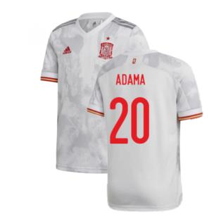 2020-2021 Spain Away Shirt (Kids) (ADAMA 20)