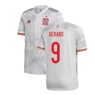 2020-2021 Spain Away Shirt (Kids) (GERARD 9)