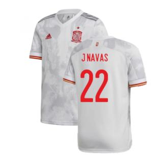 2020-2021 Spain Away Shirt (Kids) (J NAVAS 22)