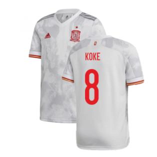 2020-2021 Spain Away Shirt (Kids) (KOKE 8)
