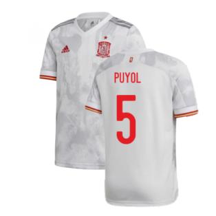 2020-2021 Spain Away Shirt (Kids) (PUYOL 5)