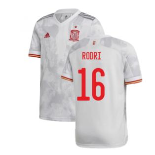 2020-2021 Spain Away Shirt (Kids) (RODRI 16)