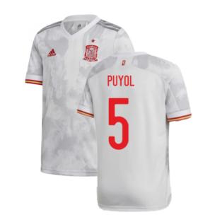 2020-2021 Spain Away Shirt (PUYOL 5)