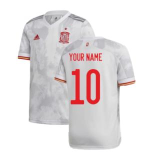 2020-2021 Spain Away Shirt (Your Name)