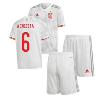 2020-2021 Spain Away Youth Kit (A INIESTA 6)