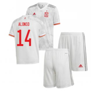 2020-2021 Spain Away Youth Kit (ALONSO 14)