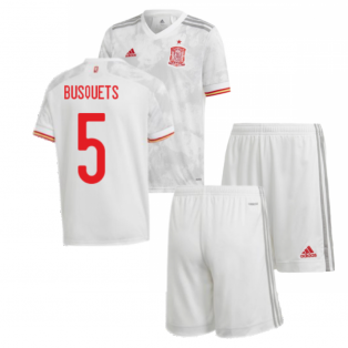 2020-2021 Spain Away Youth Kit (BUSQUETS 5)