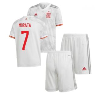 2020-2021 Spain Away Youth Kit (MORATA 7)