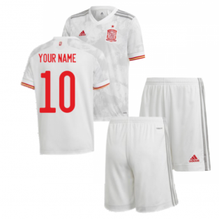 2020-2021 Spain Away Youth Kit (Your Name)