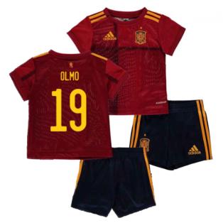 2020-2021 Spain Home Adidas Baby Kit (OLMO 19)