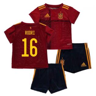 2020-2021 Spain Home Adidas Baby Kit (RODRI 16)