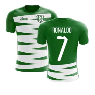 2020-2021 Sporting Lisbon Home Concept Football Shirt (Ronaldo 7)