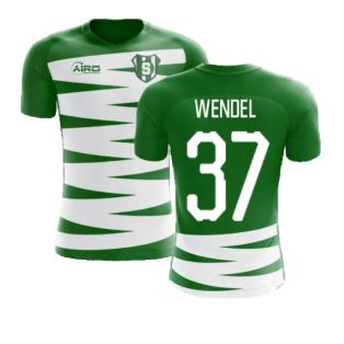 2020-2021 Sporting Lisbon Home Concept Football Shirt (Wendel 37)