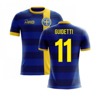 2020-2021 Sweden Airo Concept Away Shirt (Guidetti 11) - Kids