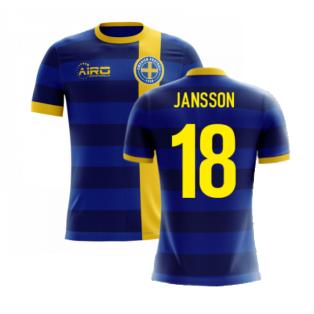 2020-2021 Sweden Airo Concept Away Shirt (Jansson 18) - Kids