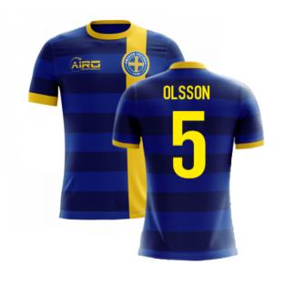 2020-2021 Sweden Airo Concept Away Shirt (Olsson 5) - Kids